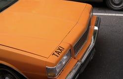 Taxi taksówka dla dzierżawienia zdjęcie stock