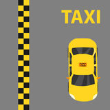 Taxi, taxi logo. Taxi logo. Flat design,  illustration Royalty Free Stock Images