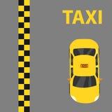 Taxi, taxiembleem Royalty-vrije Stock Afbeeldingen