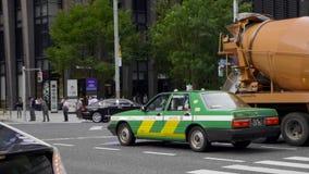 Taxi a Tokyo archivi video