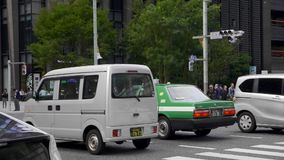 Taxi a Tokyo video d archivio