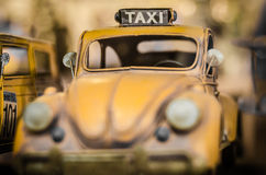 TAXI toy. Stock Photo