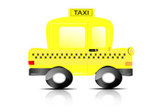 Taxi transport Stock Images