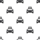 Taxi, vector seamless pattern Royalty Free Stock Photo