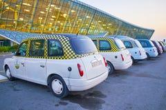 Taxi vers Bakou Photographie stock
