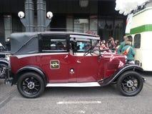 Taxi viejo de la moda en la demostración del alcalde del señor de Londres 2014 Imagenes de archivo