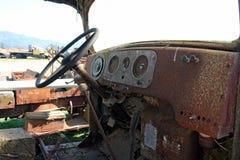 Taxi viejo del camión Foto de archivo libre de regalías