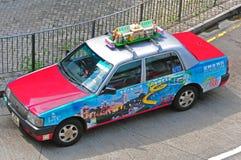 Taxi von Hong Kong Stockfotos