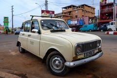 Taxi w Antananarivo, Madagascar Obrazy Royalty Free