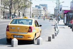 Taxi waiting costumers Stock Photo