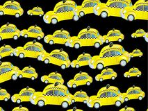 Taxi Wallpaper Royalty Free Stock Photos