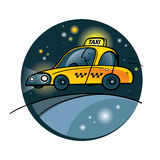 Taxi Yellow Cab Stock Photos
