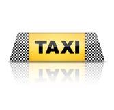Taxi znak Fotografia Royalty Free