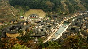 Taxia Fujian Tulou Royalty Free Stock Photos