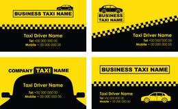 Taxibakgrund Royaltyfri Fotografi
