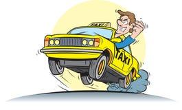 Taxibestuurder Royalty-vrije Stock Foto