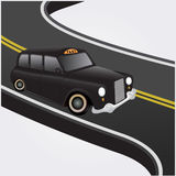 Taxibil Royaltyfria Foton