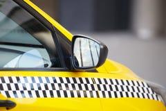 Taxibil Royaltyfri Fotografi