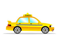 Taxibil Arkivbilder