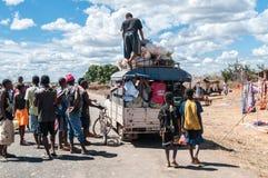 Taxibrousse Royaltyfri Bild