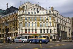 Taxicabine in Londen Royalty-vrije Stock Afbeeldingen