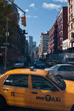 Taxicabs of New York City Stock Image