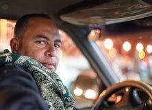 Taxichaufför Royaltyfri Fotografi