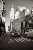 Taxies in Manhattan Royalty Free Stock Photos