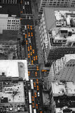 Taxies in Manhattan Stock Photography