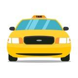 Taxifront Στοκ φωτογραφία με δικαίωμα ελεύθερης χρήσης