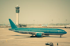 Taxiing for Takeoff Royalty Free Stock Photos