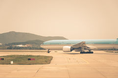 Taxiing for Takeoff Royalty Free Stock Photo