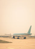 Taxiing for Takeoff Royalty Free Stock Photography