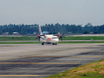 Taxiing Wings Stock Image