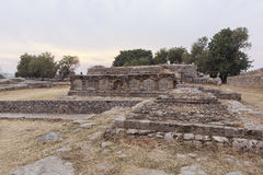 Taxila-Erbe in Pakistan Stockbild