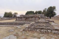 Taxila-Erbe in Pakistan Stockbild