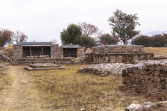 Taxila Heritage in Pakistan. This photo is taken in Taxila in Pakistan. From the ancient Neolithic tumulus of Saraikala to the ramparts of Sirkap 2nd century B.C Stock Photos