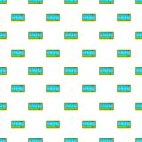 Taximeter pattern, cartoon style Stock Photography