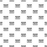 Taximeter pattern, simple style Stock Photography