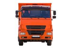 Taxin av lastbilslutet upp som isoleras royaltyfria bilder