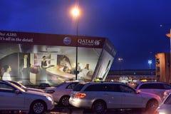 Taxis à l'aéroport Images stock