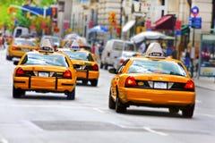 Taxis à Manhattan photographie stock