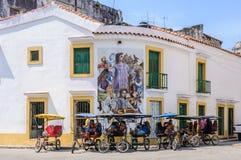 Taxis ποδηλάτων στο Λα Habana Vieja, Κούβα Στοκ Φωτογραφίες