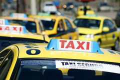 Taxis Royalty Free Stock Photography