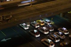 Taxis bei McCarran Lizenzfreies Stockfoto