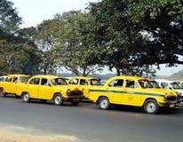 Taxis de Calcutta Imagen de archivo libre de regalías