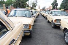 Taxis de Morrocan Photo libre de droits
