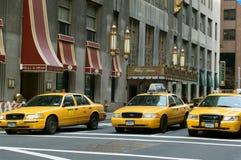 Taxis de New York photo libre de droits