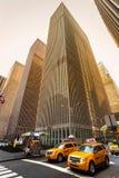 Taxis de New York City. Fotos de archivo libres de regalías