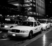 Taxis de New York Times Photo libre de droits